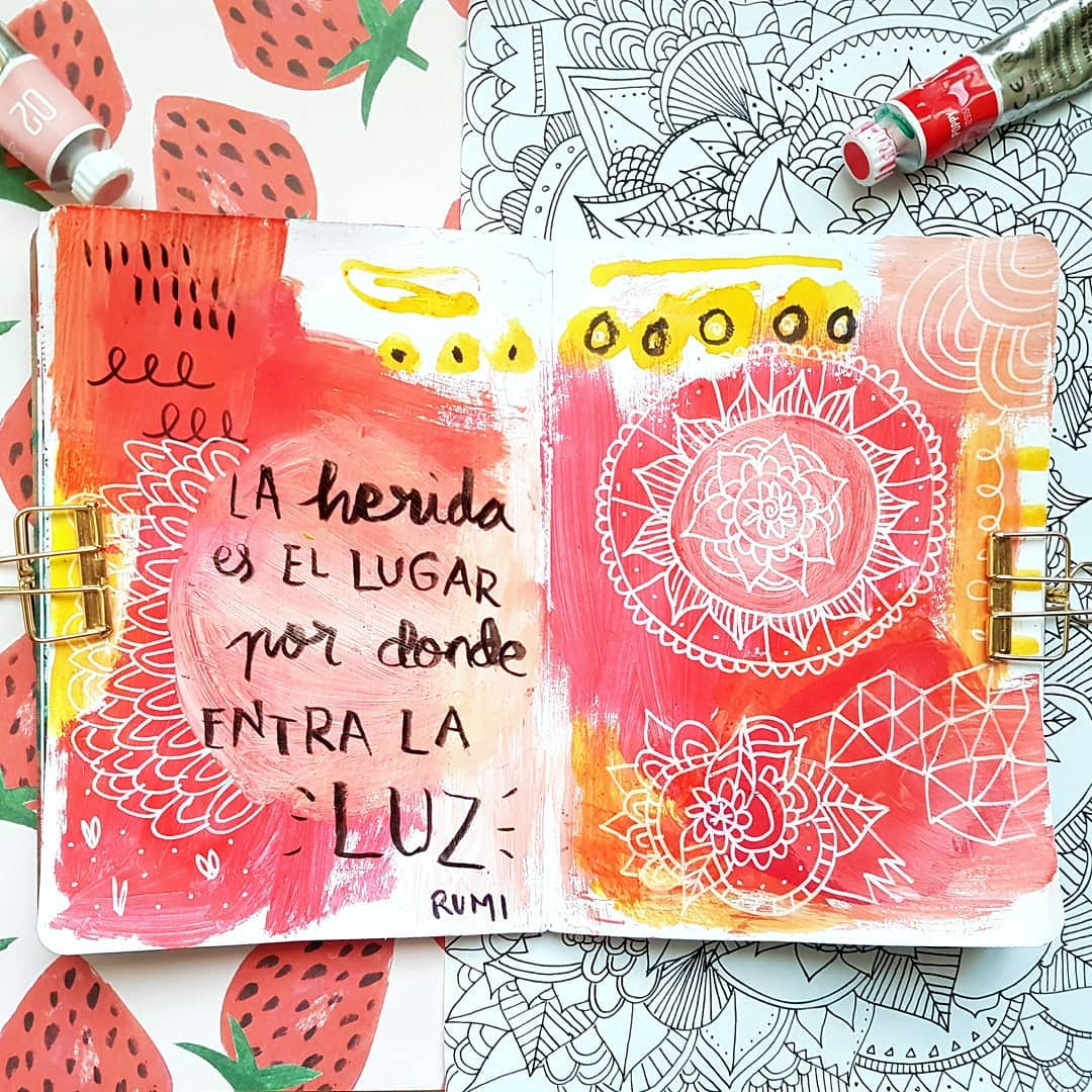 ideas art journal
